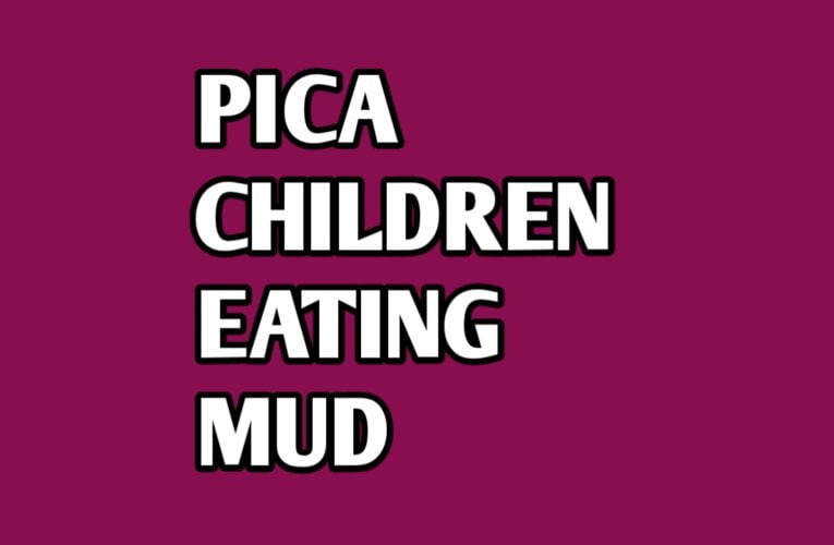 Pica in children