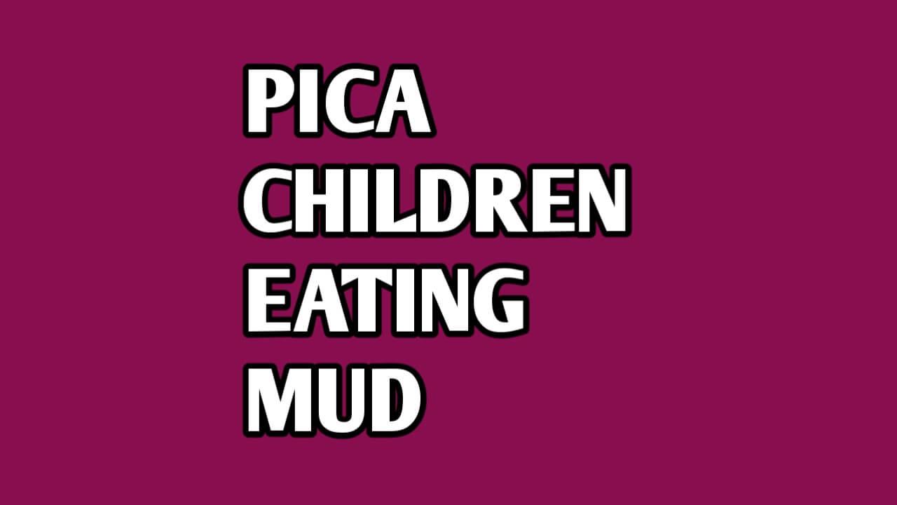 Pica in children
