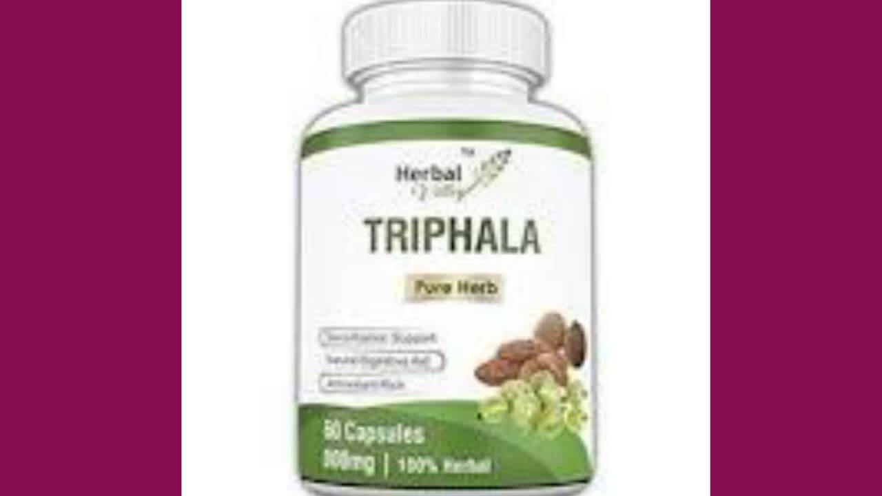 Triphala churna benefits